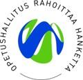 Opetushallituksen logo, jossa lukee Opetushallitus rahoittaa hanketta ja keskellä ympyrää on OPHn sinivihreä tunnus