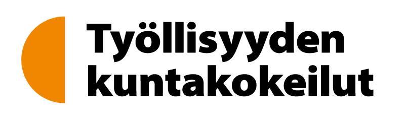 Työllisyydne kuntakokeilu -logo